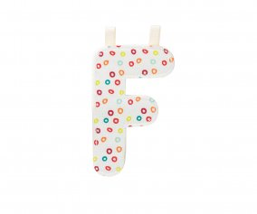 Fabric Letter F Lilliputiens
