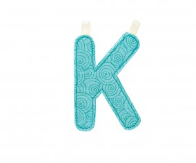 Fabric Letter K Lilliputiens