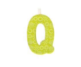 Fabric Letter Q Lilliputiens