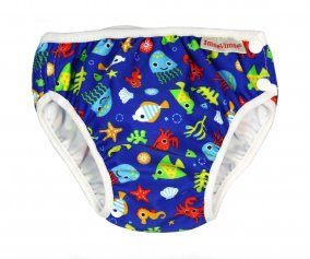Blue Sea Life Swim Nappy