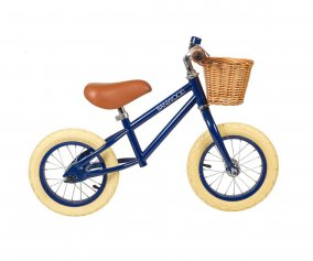 Bicicleta Banwood sin Pedales First Go! Azul Marino