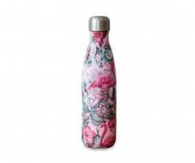Botella Acero Inoxidable Tropical Flamingo 500ml