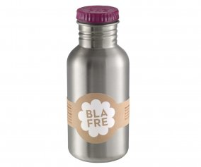 Stainless Steel Bottle Plum 500 ml