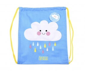 Personalised Happy Cloud Rucksack