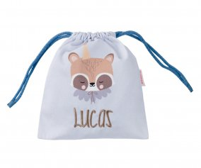 Sac à Collations Personnalisable Circus Racoon