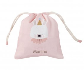 Sac à Collations Personnalisable Circus Bunny