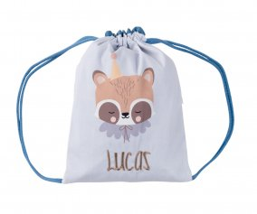 Sac à dos Personnalisable Circus Racoon