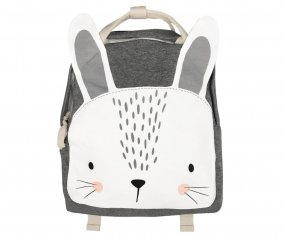 Sac à dos Personnalisable Mister Fly Lapin Gris