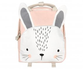 Sac à dos Personnalisable Mister Fly Lapin Rose