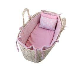 Cesta Baby Moses Basket Suuky Set Eight