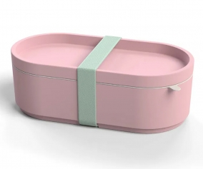 Bamboo Lunch Box Pink