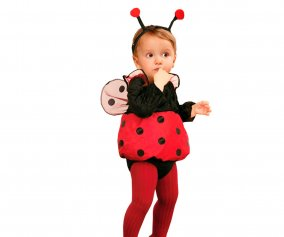 Costume Coccinelle 7-12 mois