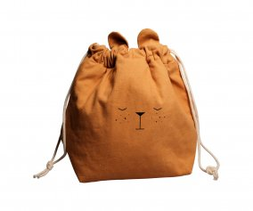 Petit Sac Organisateur Ours Ocre