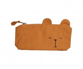 Trousse Personnalisable Ours Ocre Animal