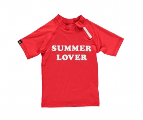 T-Shirt Nuoto UV Summer Lover Red