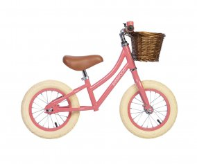 Bicicleta Banwood sin Pedales First Go! Coral