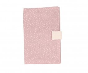Porte-documents Personnalisable Mini Dot Rose
