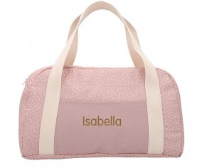 Sac de Sport Personnalisable Mini Dot Rose