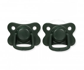 Pack 2 Succhietti Filibabba Moments Dark Green +6M