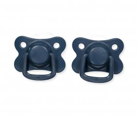 Pack 2 Succhietti Filibabba Moments Dark Blue +6M