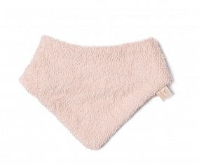 Bavoir Bandana So Cute  en coton Bio Rose