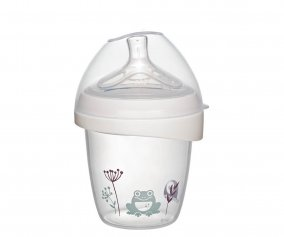 Nip first moments PP wide-neck bottle frog 150 ml