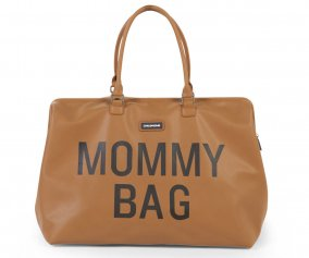 Borsone Mommy Bag Pelle Camel