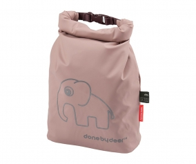 Personalised Powder Pink Elphee Waterproof Bag