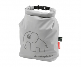 Personalised Grey Elphee Waterproof Bag