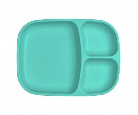 Grande Assiette à Compartiments Replay Turquoise
