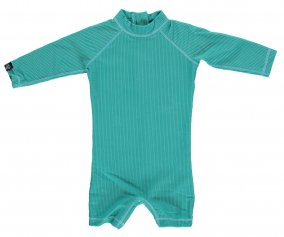Tuta Nuoto ML Baby Lagune Ribbed Green