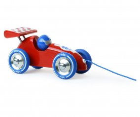 Auto Trainabile Red & Blue Racing Car