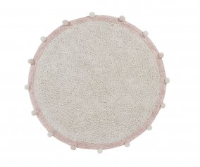 Alfombra Lavable Lorena Canals Bubbly Natural Vintage Nude