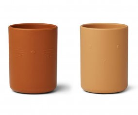 2 Vasos de Silicona Ethan Yellow Mix