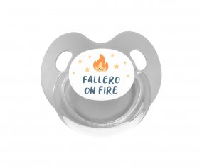 Chupete Retro Fallero On Fire