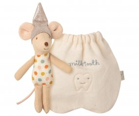 Topino Tooth Fairy Mouse con Sacchettino