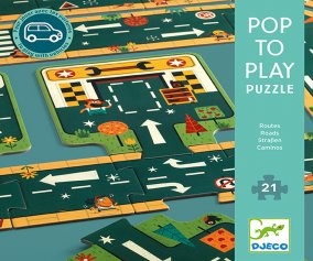 Puzzle Pop to Play Routes