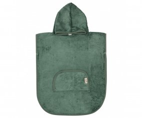 Poncho Personnalisable Timboo Aspen Green