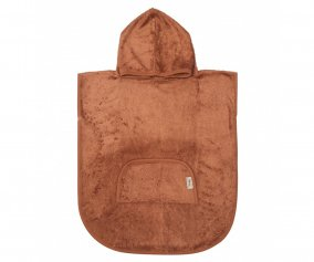Poncho Timboo Hazel Brown Personalizable