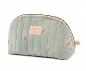 Trousse de toilette Holiday White Gatsby/Antique Green Personnalisable