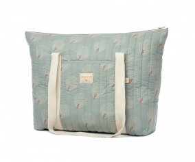 Sac de Maternité Paris White Gatsby/Antique Green