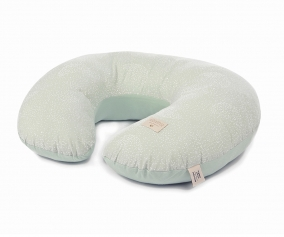 Oreiller d'allaitement Sunrise White Bubble/Aqua