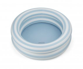 Piscina Leonore Sea Blue/Creme