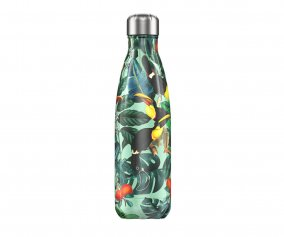 Botella Acero Inoxidable Toucan Tropical 500ml