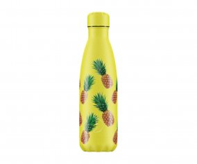 Botella Acero Inoxidable Frutal Piña 500ml