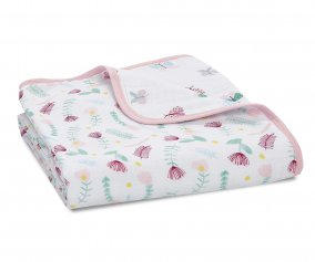 Trapuntino Mussolina Aden+Anais Dream Blanket Floral Fauna