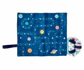 Tablecloth Set with Space Circuit +3 Plush Toys