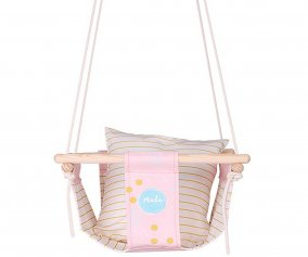 Altalena Baby Swing Sweet Pink Dots