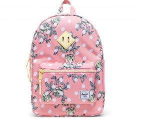 Mochila Herschel Heritage Youth Polka Floral Peony Personalizable