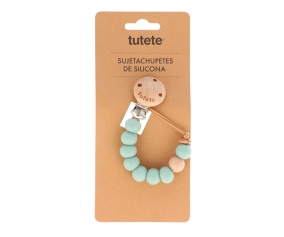Attache-Sucette Silicone Nature Sage